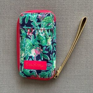 Lilly Pulitzer Cell Wristlet Wallet Trunk Show